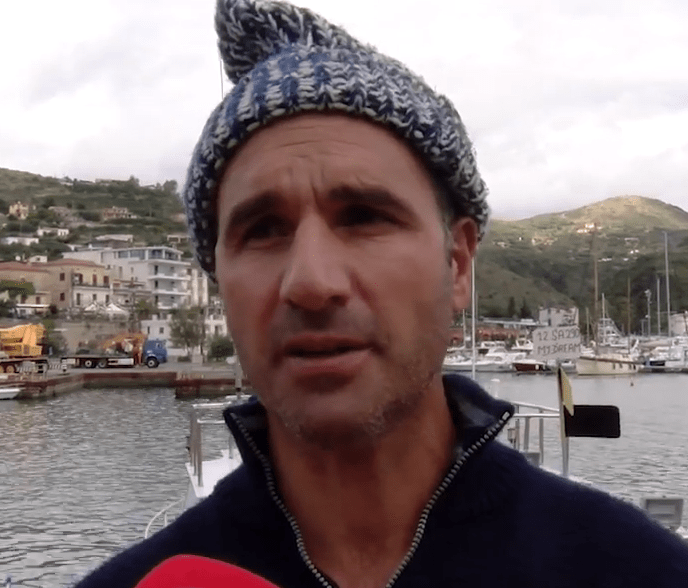 Vincenzo D'Angelo pescatore di Camerota