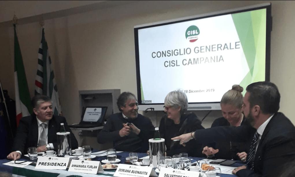 Consiglio Generale Cisl Campania 2019