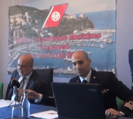 Capitaneria di Porto di Agropoli - conferenza stampa