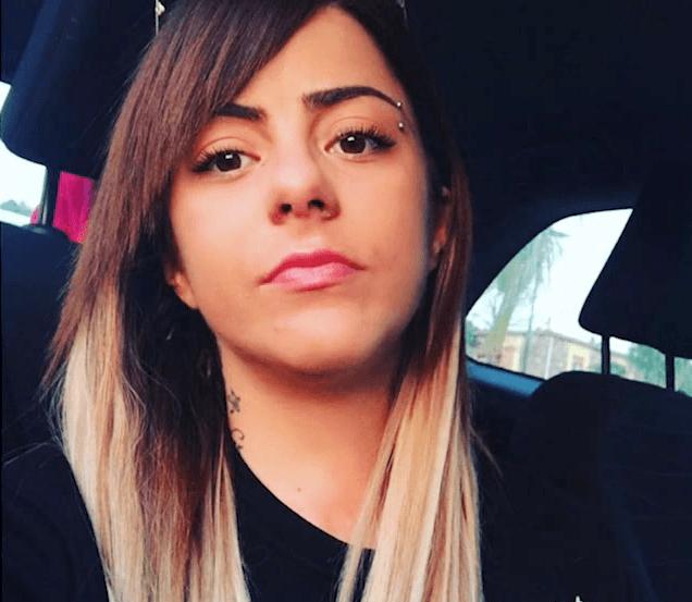 Chiara Donnabella - arrestata per spaccio di droga a Vallo Scalo 2020