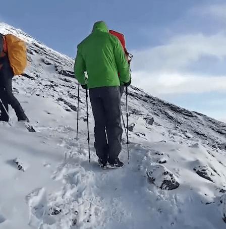 Alessandro Pirotti di Camerota scala il Kilimangiaro