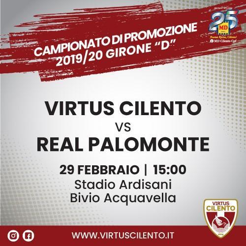 Virtus Cilento vs Palomonte - 29 febbraio 2020