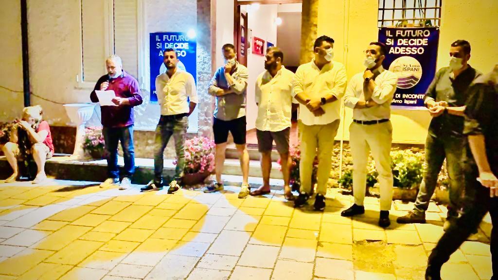 Inaugurazione della sede elettorale di SiAmo Ispani - Candidato a Sindaco Franco Giudice, già vicesindaco di Ispani